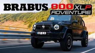 The ultimate high-performer - BRABUS 800 XLP Adventure