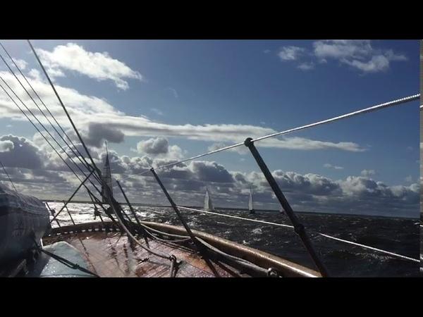 Финиш регаты кубок Балтийца на яхте Мальва 1938