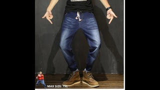 Мужские джинсы 2021, уличная одежда, джинсы в стиле хип хоп, черные джинсы, homme, большой размер 6xl, kot pantolon, шаровары,