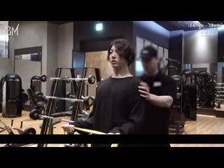 RUS SUBVLOG Jungkook | Muscle Bunny's exercise log #GainingMuscleTodayToo #ThatBoyWithBobHair