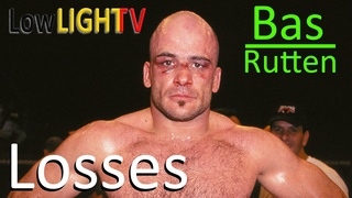 """Bas """"El Guapo"""" Rutten ALL (4) LOSSES in MMA Fights (Lowlight TV)"""