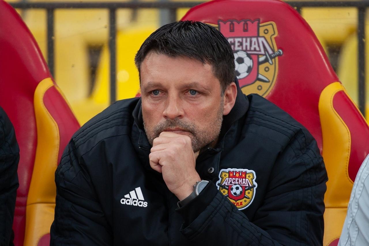 Главный тренер тульского Арсенала Игорь Черевченко