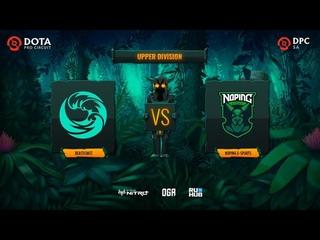 beastcoast vs NoPing e-sports, Dota Pro Circuit 2021: S1 - SA, bo3, game 2 [Lazar' & Mortalles]