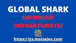 🦈 Глобал Шарк (Global Shark) - Начинай Зарабатывать! (2 мин.)