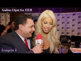 Bridgette B gives a blowjob lesson for Andrea Diprè