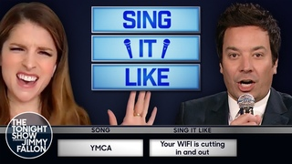 Sing It Like with Anna Kendrick | The Tonight Show Starring Jimmy Fallon