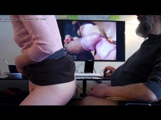 Сидел, дрочил на порнушку, подошла жена и помогла тебе и себе. полное взаимопонимание)))))