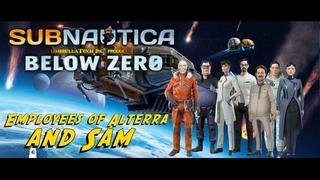 Subnautica Below Zero Обзор - Персонал Альтерры и Сэм