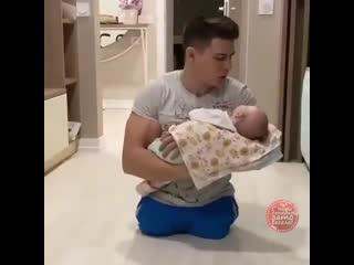 Какой чудесный папа!