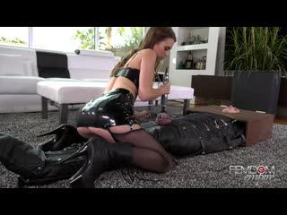 jill kassidy chastity sex denial [femdom, stockings, licking, facesitting, bondage, masturbation, 1080p]