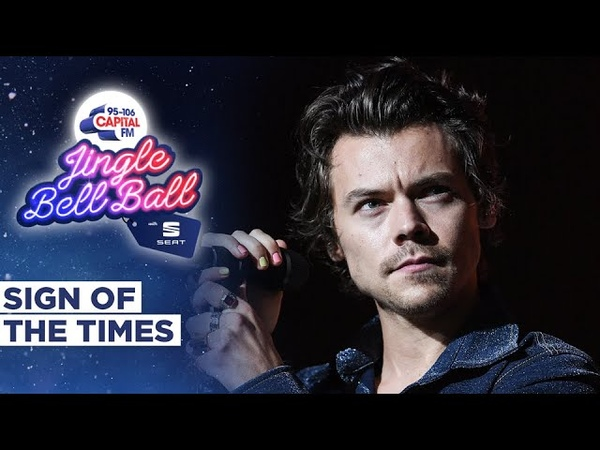 Harry Styles Sign Of The Times Live at Capital's Jingle Bell Ball 2019 Capital