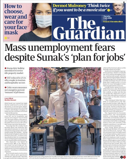 The Guardian UK - 9 July 2020