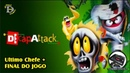 Decap Attack MEGA DRIVE Gameplay Ultimo Chefe e Final
