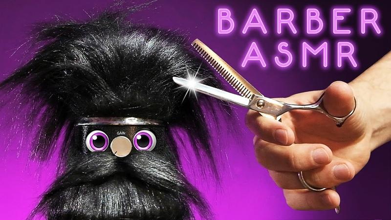 ASMR Barbershop Tingles for Sleep   Snip, Spritz Swoosh