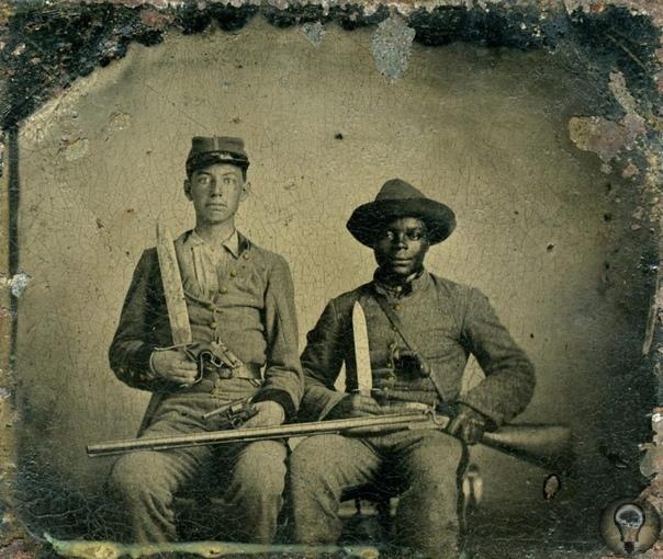 Черные в гражданской войне на Севере и на Юге Выстрелить в белого и не понести наказание афроамериканец мог только во время гражданской войны в США. В гражданской войне 1861 1865 гг. многое