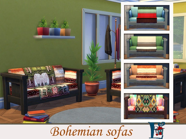 Мебель разная для Sims 4 со ссылкой для скачивания