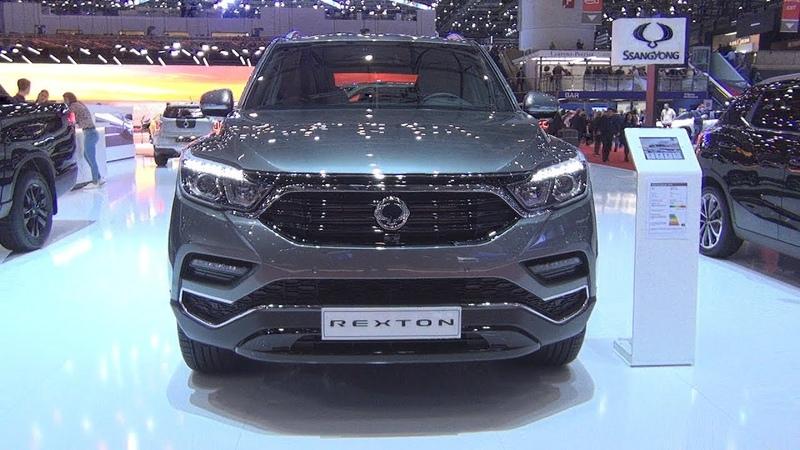SsangYong Rexton Sapphire 7AT AWD Elegance 2 2 D E XDI 220 2019 Exterior and Interior