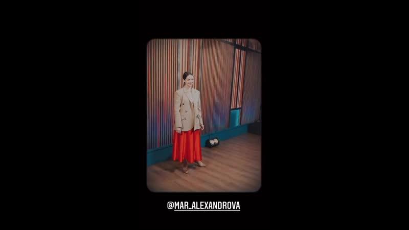 Марина Александрова на программе Вечерний Ургант 29 09 2020