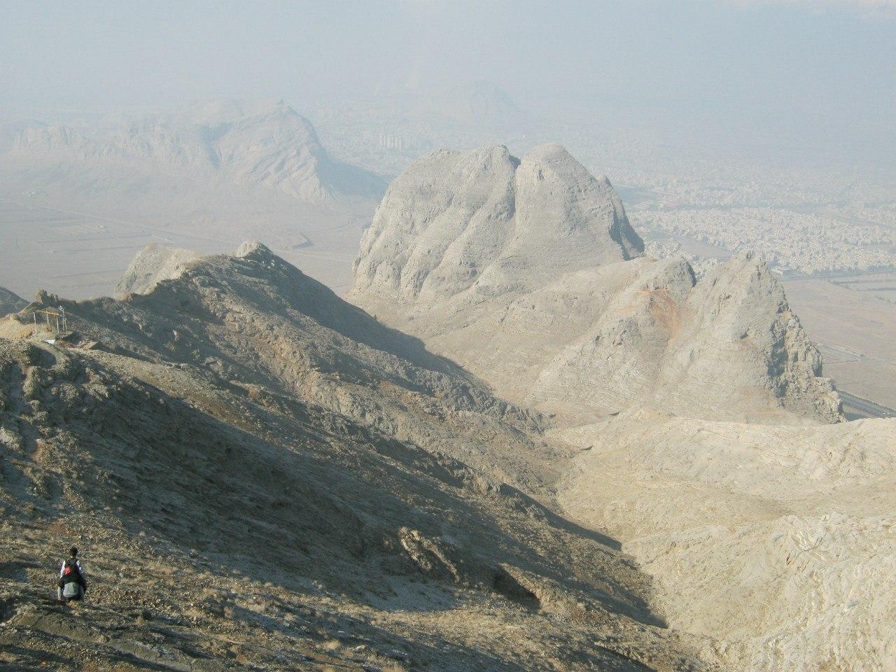 Вид с горы Соффиех Исфахан