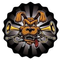 Логотип DISTEMPER