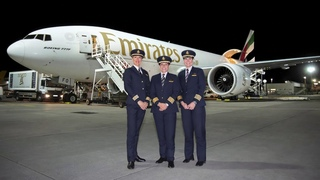 Women pilots fly Emirates SkyCargo Boeing 777 Freighter to 4 continents   International Women's Day