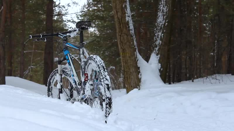 Winter ride in