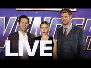Chris Hemsworth, Scarlett Johansson Step Out For 'Avengers: Endgame' London Premiere