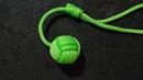 Gantungan kunci bola dari tali kurBall keychainMonkey fistpelangi shop