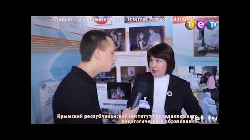 Дурнев 1- На образовательной выставке