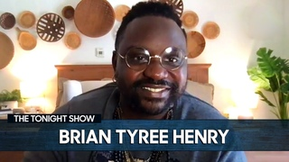 Brian Tyree Henry's Voice Changed Octaves When He Met Brad Pitt | The Tonight Show