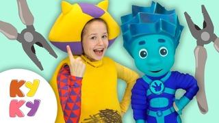КУКУТИКИ и ФИКСИКИ - Пассатижи - Веселая развивающая песенка фиксипелка для детей про инструменты