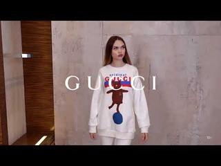 Новая коллекция Gucci // Женский образ casual // Фирменный бутик в Лакшери Store // Тренды 2020/2021