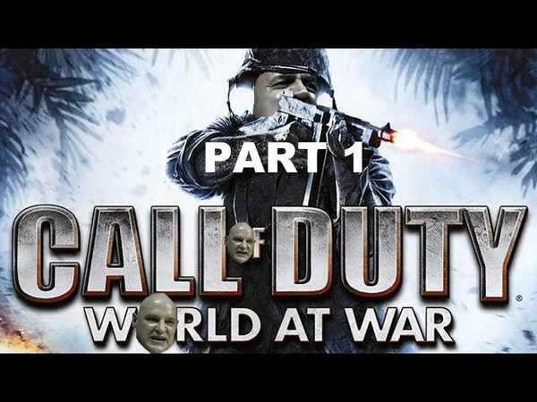 Hitler plays Call Of Duty World At War Part 1 Semper Fi