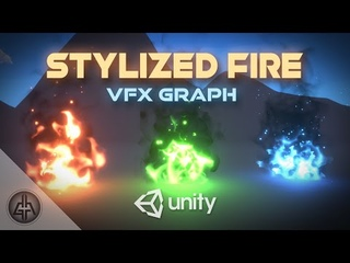 STYLIZED FIRE in Unity VFX Graph Tutorial