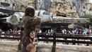 Chewbacca Meets Mini Chewie - Star Wars: Galaxy's Edge