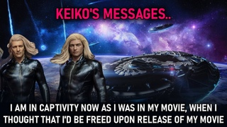 Keiko's Messages I am in captivity now as I was in my movie, when I thought that I'd be freed upon release of my movie