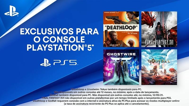 Grandes lançamentos PS5