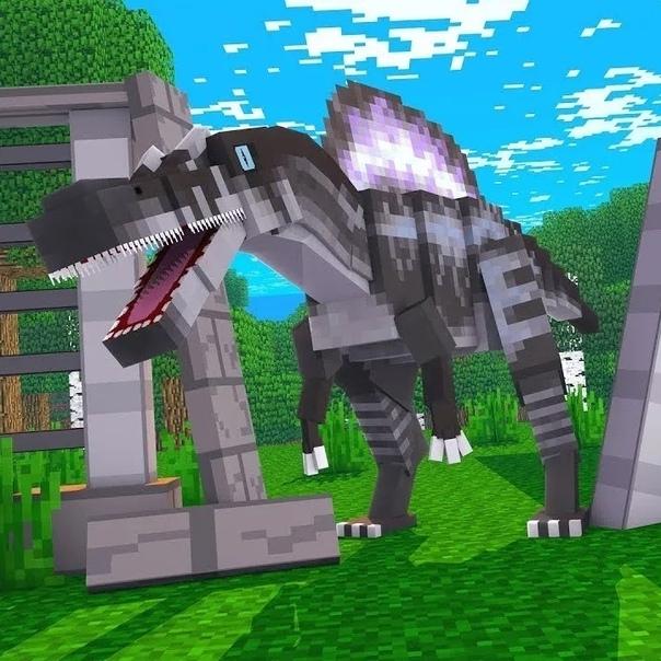 майнкрафт динозавры ютуб