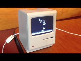 John's 1/3 scale Mini Mac
