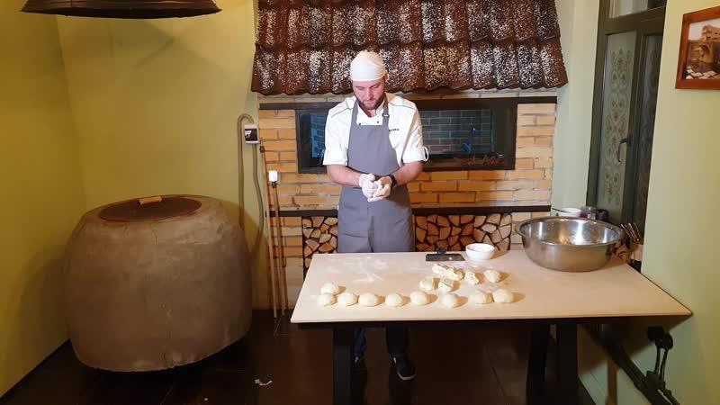 Кухня Колхиды хлеб шоти в тандыре