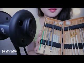 ASMR {ENG SUB} Rough Ear Cleaning 👂 binal 2 mic