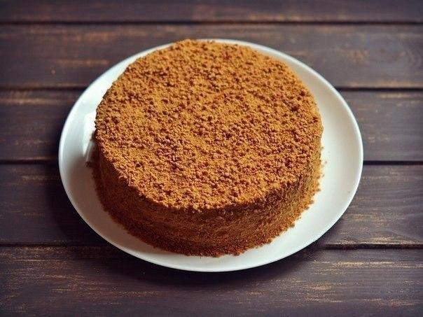 """Вкусный и многим полюбившийся торт """"Рыжик"""""""