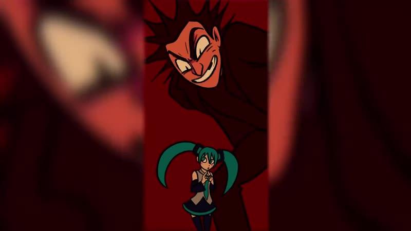 Король и Шут Хатсуне Мику фан анимация Korol i shut Hatsune Miku animation Кукла колдуна mp4