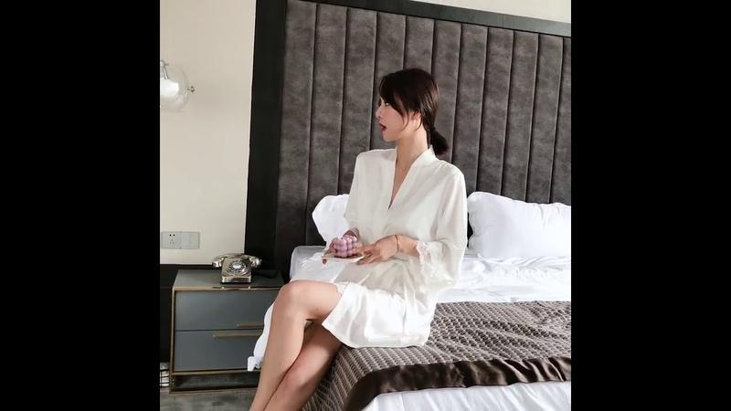 Кружевной отделкой пикантные свадебные женские халат костюм свободного кроя из сатина для невесты кимоно для невесты халат Мини пижамы искусственный шёлк интимное белье