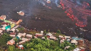 Dramatic video! Nyiragongo Volcano Eruption & Earthquake in Congo, Africa (May 24, 2021)