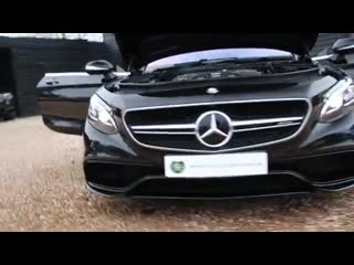 Mercedes-benz s63 amg 5.5 v8 twin-turbo 2dr automatic coupe in obsidian black 20