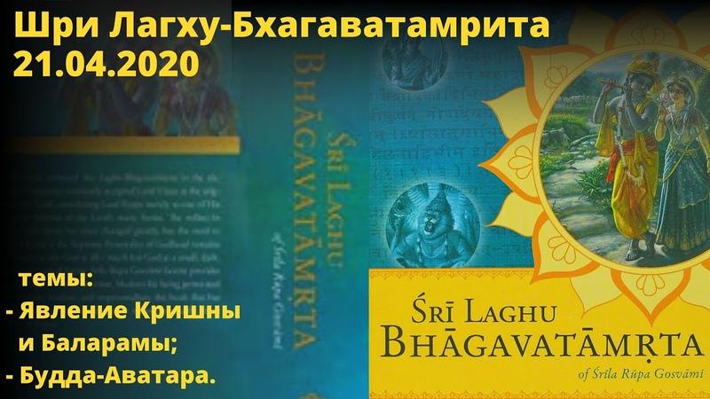 Шри Лагху Бхагаватамрита БВ Мадхава Махарадж 21 04 2020 года Матхура Индия