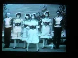 Some REALLY old Irish Dancing on TV