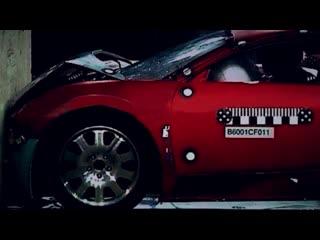 Самый дорогой краш тест Bugatti Veyron