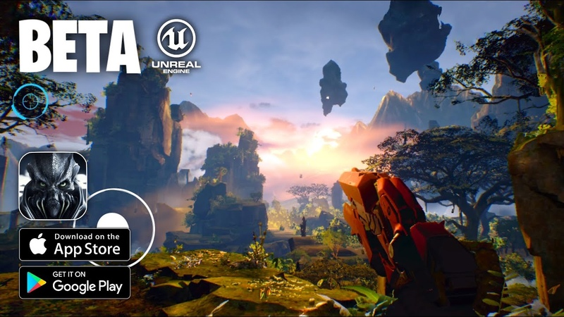 TAUCETI UNKNOWN ORIGIN Android iOS BETA GAMEPLAY BENCHMARK DEMO Unreal Engine 4